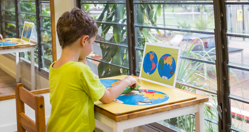 Kindergarten and Prep at Brisbane Montessori happens differently with our Children's House, a single environment for 3 - 6 years olds, setting them up for Primary School.